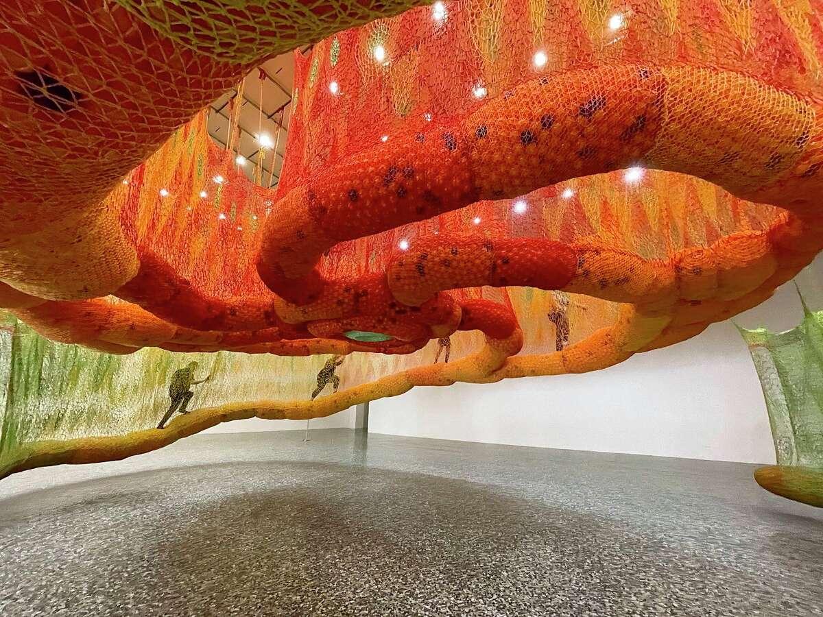 The Museum of Fine Arts, Houston presents Ernesto Neto: SunForceOceanLife.