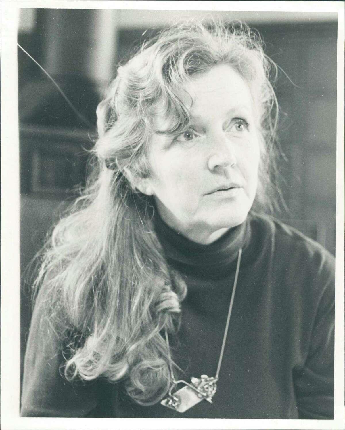 Artist Jackie Kirk circa 1990