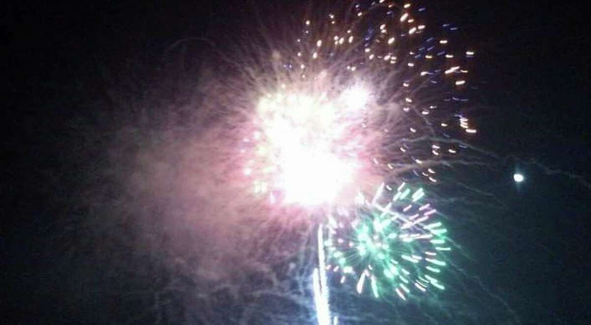 Visitors travel for miles around for an impressive fireworks show at Luther. (Star file photo)