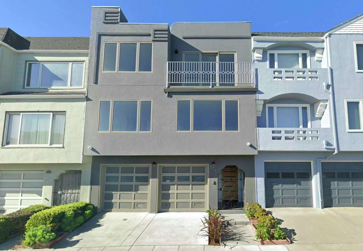 Google Street View of 571 Myra Way in San Francisco. The property was the subject of a whistleblower report detailing how former city inspector Bernard Curran skirted permit rules.