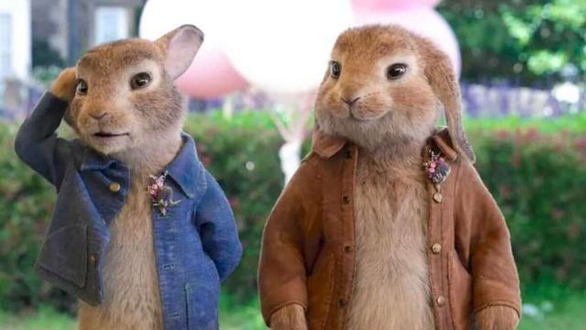 """A scene from """"Peter Rabbit 2: The Runaway."""""""