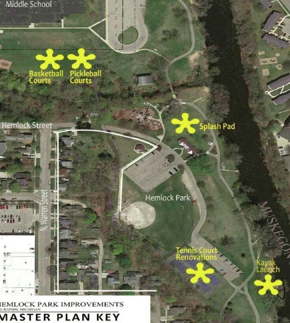 The highly-anticipated improvements at Hemlock Park in Big Rapids may not begin this summer as planned.