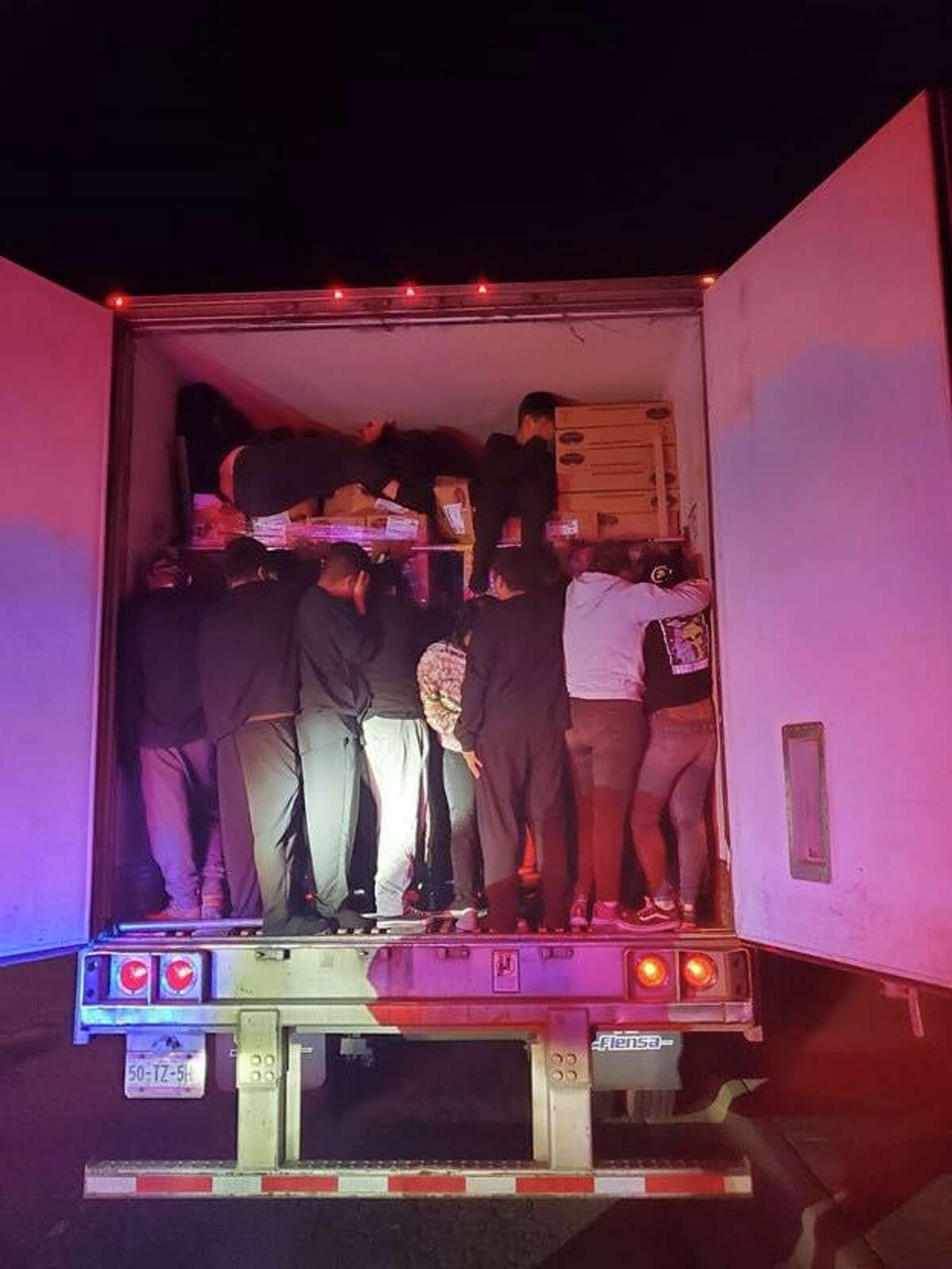 U.S. Border Patrol agents said they have arrested more than 190 migrants in a matter of four days. The migrants were found inside commercial vehicles.
