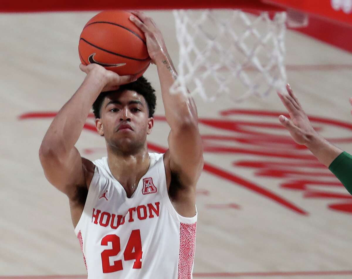 Last season's AAC co-player of the year, Quentin Grimes averaged 17.8 points and 5.7 rebounds per game and was one of only three players in the country to sink 100 3s.