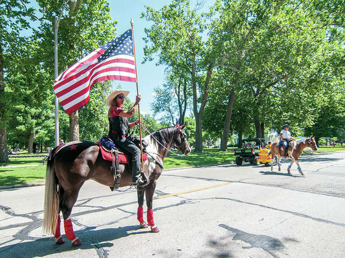 This year's Rotary Independence Day Parade is set to step off at 10 a.m. July 3. The parade will begin at the Morgan County Fairgrounds, continue down West State Street and wrap around Central Park. Candy will be thrown during the parade.
