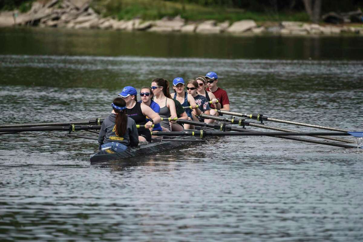 Bay City Rowing Club is providing rowing lessons beginning July 7. (Photo provided)