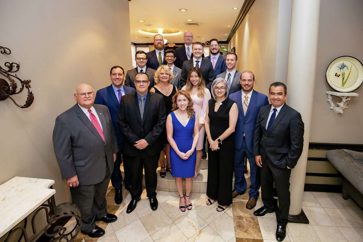 The founding cohort of Resident Physicians from the Internal Medicine Residency Program is pictured with leaders from Laredo Medical Center, University of the Incarnate Word School of Osteopathic Medicine and Gateway Community Health Center.