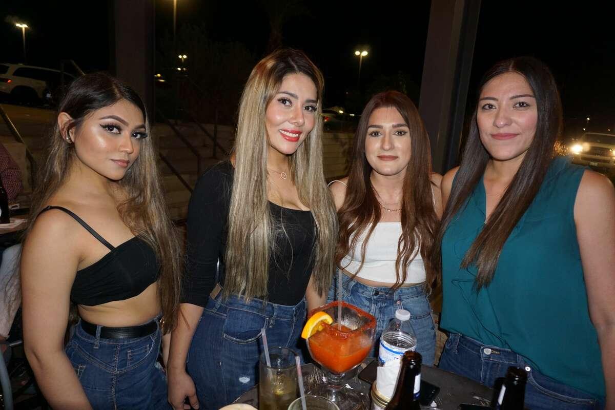 Priscila Trujillo, Karina Miranda, Gina Rangel and Kristel Rios at Costa Grill.