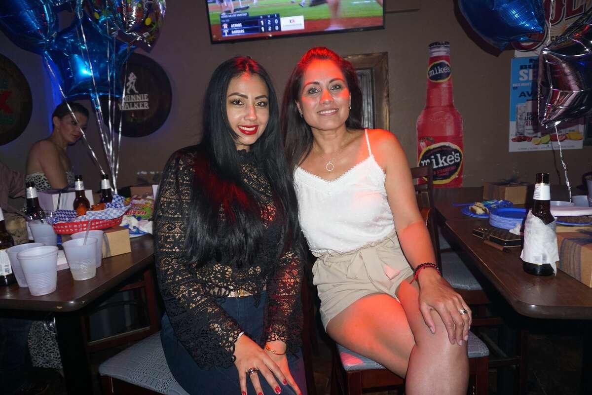 Mayra Monica and Nancy Gallegos at Blue Moon Country Bar & Patio.