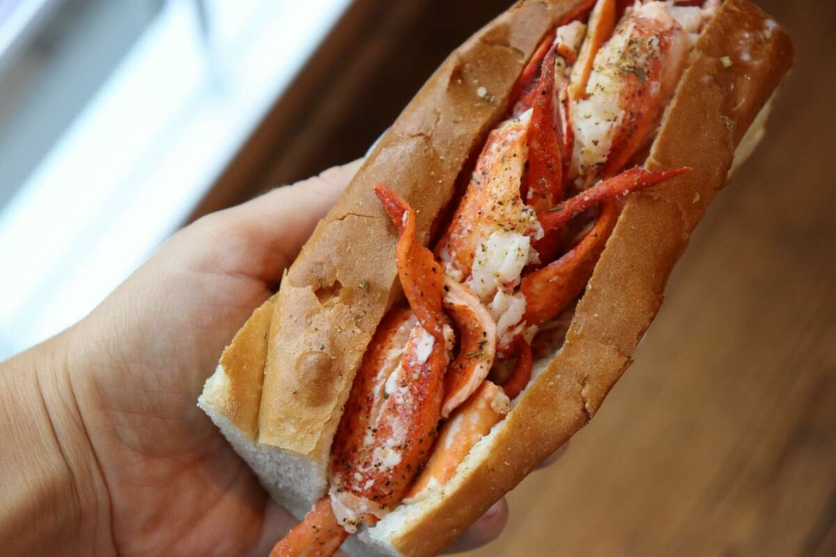 LobsterCraft's classic hot buttered roll is its flagship item.