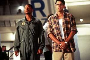 """Americans may have celebrated their """"Independence Day"""" in July 1996 by flocking to the theaters to see Will Smith and Jeff Goldblum (SPOILER ALERT) save the world -- and turning the film into not just the top money-earner of the week, month and year, but also still holding a spot in the all-time top 100 -- but there were still plenty of tickets bought for movies starring names like Travolta, Denzel, McConaughey, Keaton, Johansson and Bullock."""