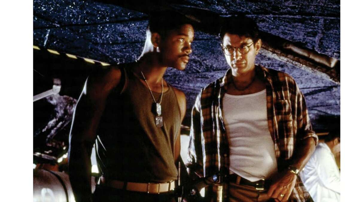 """Americans may have celebrated their """"Independence Day"""" in July 1996 by flocking to theaters to see Will Smith and Jeff Goldblum (SPOILER ALERT) save the world -- and turning the film into not just the top money-earner of the week, month and year, but also still holding a spot in the all-time top 100 -- but there were still plenty of tickets bought for movies starring names like Travolta, Denzel, McConaughey, Keaton, Johansson and Bullock."""