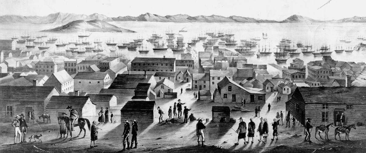 Gold Rush San Francisco, around the time Ann Moses and Eustaquio Valencia married.