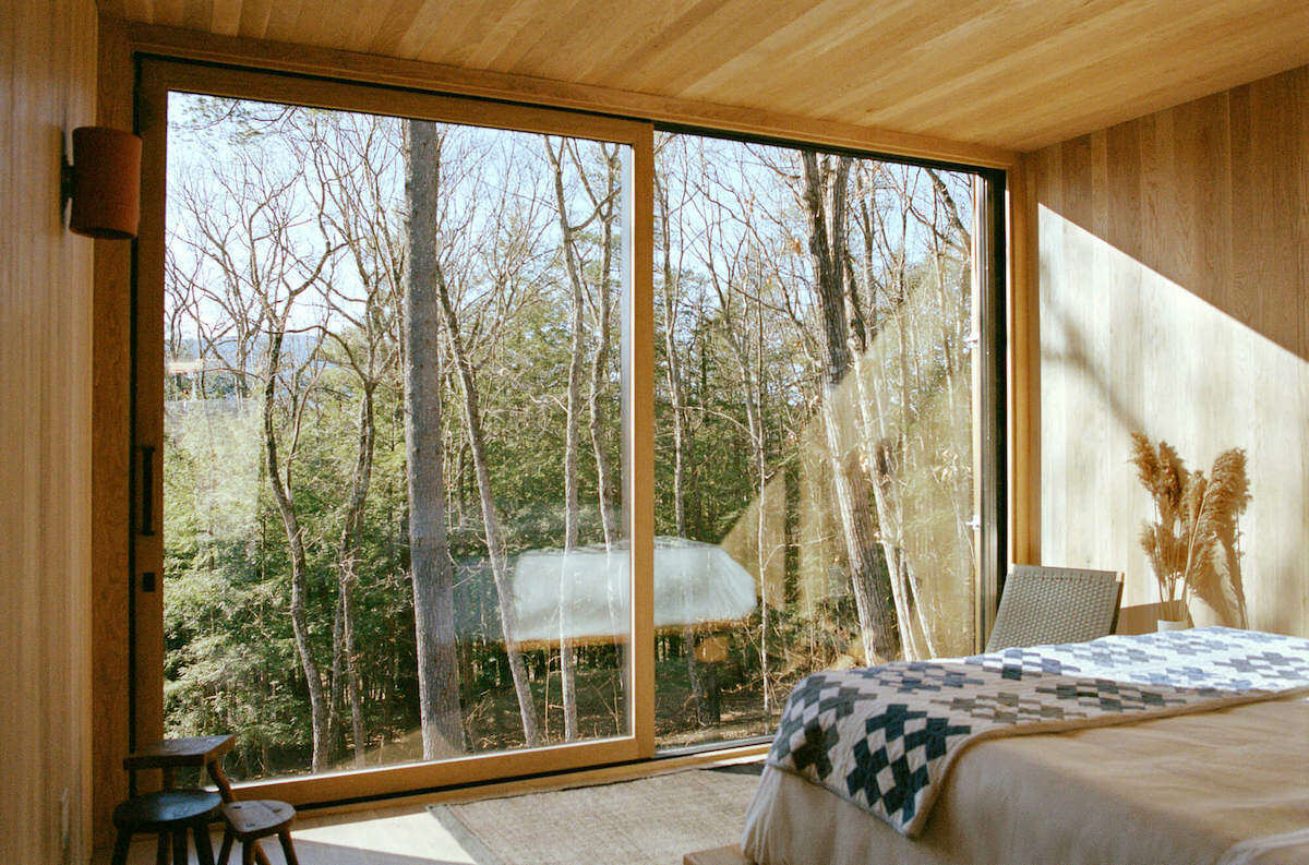 Nature is on full view at Piaule Catskill (pronounced pee-AWL), a new hotel and spa in Catskill. It is the first hotel to emerge out of a housewares brand, and guests can shop its products on site.