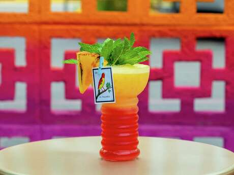 Space Cowboy: The hot new patio bar and restaurant at the Heights House Hotel mixes up the El Parajo, a cocktail inspired by the Malaysian jungle bird rum cocktail but made with Mexican twist using mezcal for the flavors of the Oaxacan beachside.