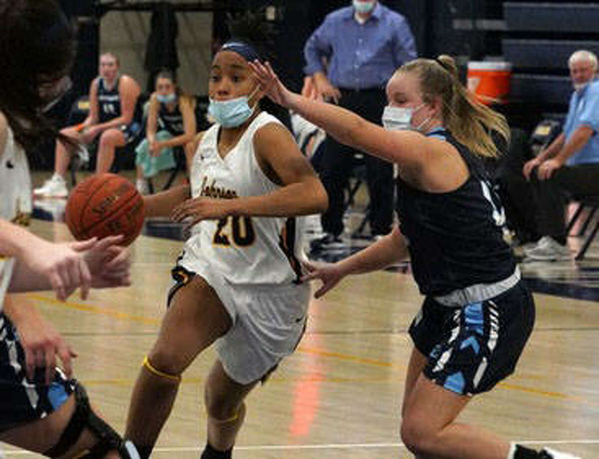 Edwardsville High School grad Jaylen Townsend was named the NJCAA Division II Women's Basketball Player of the Year for Johnson County.