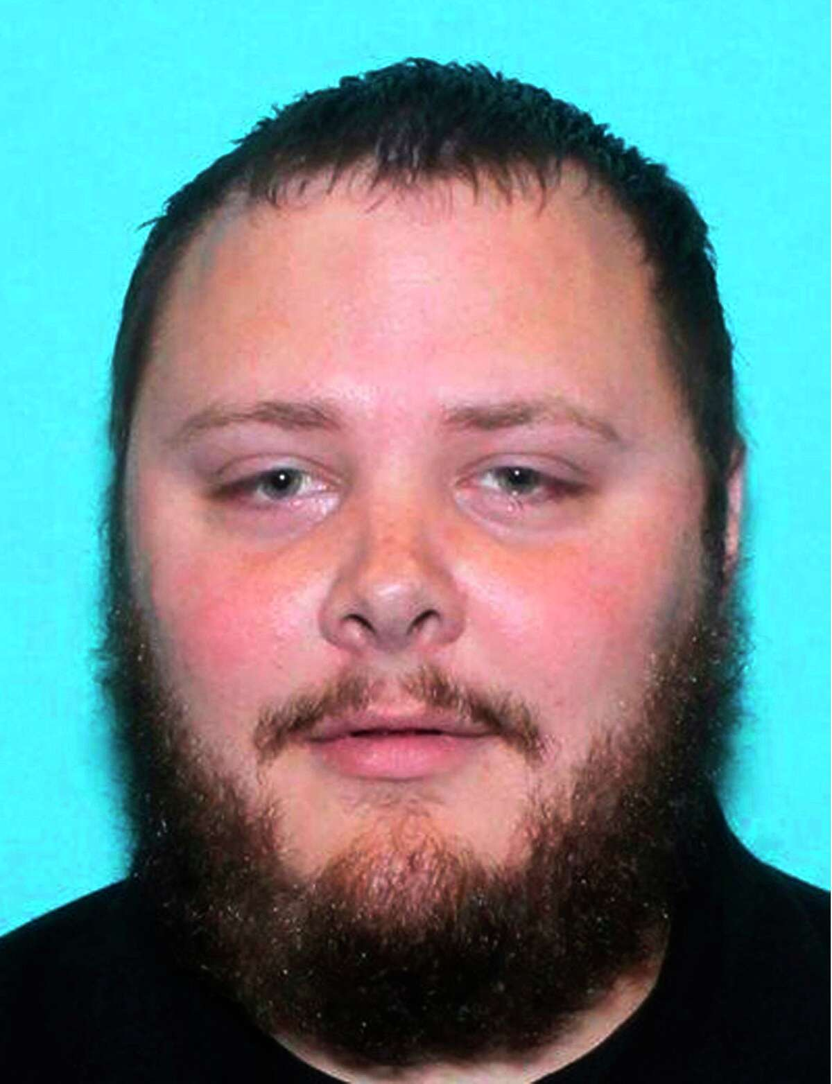 This undated file photo provided by the Texas Department of Public Safety shows Devin Patrick Kelley, the gunman who killed more than two dozen people in Sutherland Springs in 2017. (Texas Department of Public Safety via AP, File)