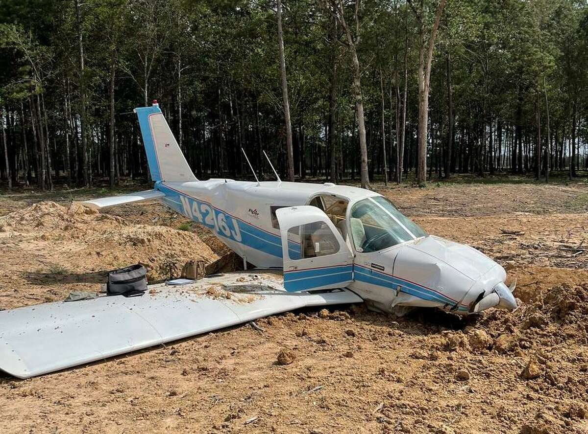 A small plane crashed in Porter on Friday morning, leaving those aboard injured, according to the Texas Department of Public Safety.