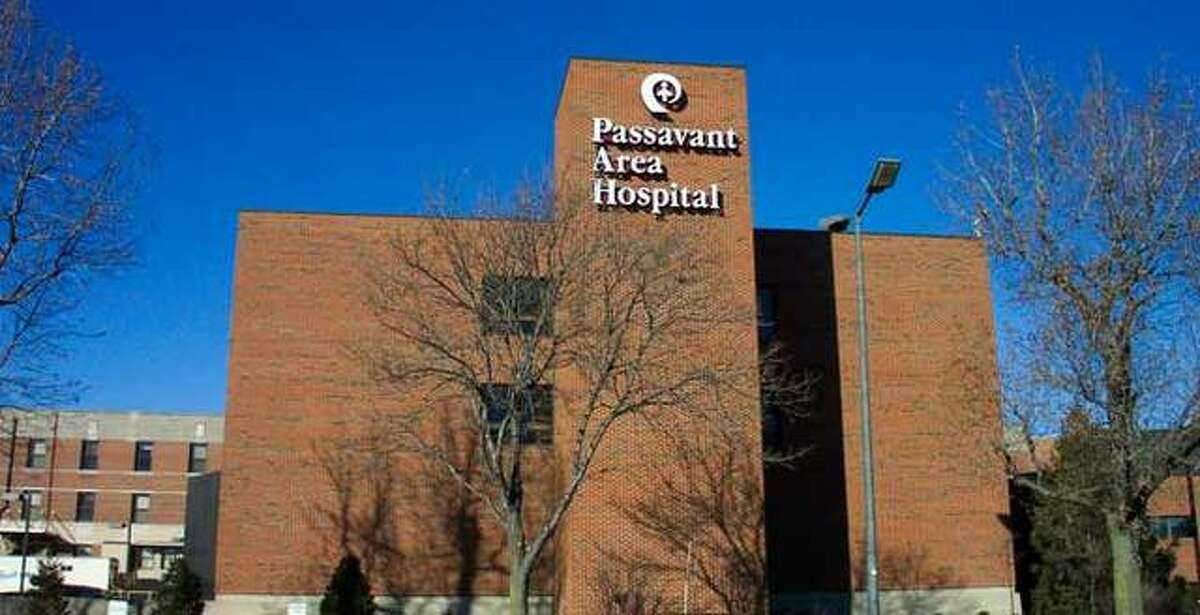 FILE - Passavant Area Hospital seen in a front-facing shot.