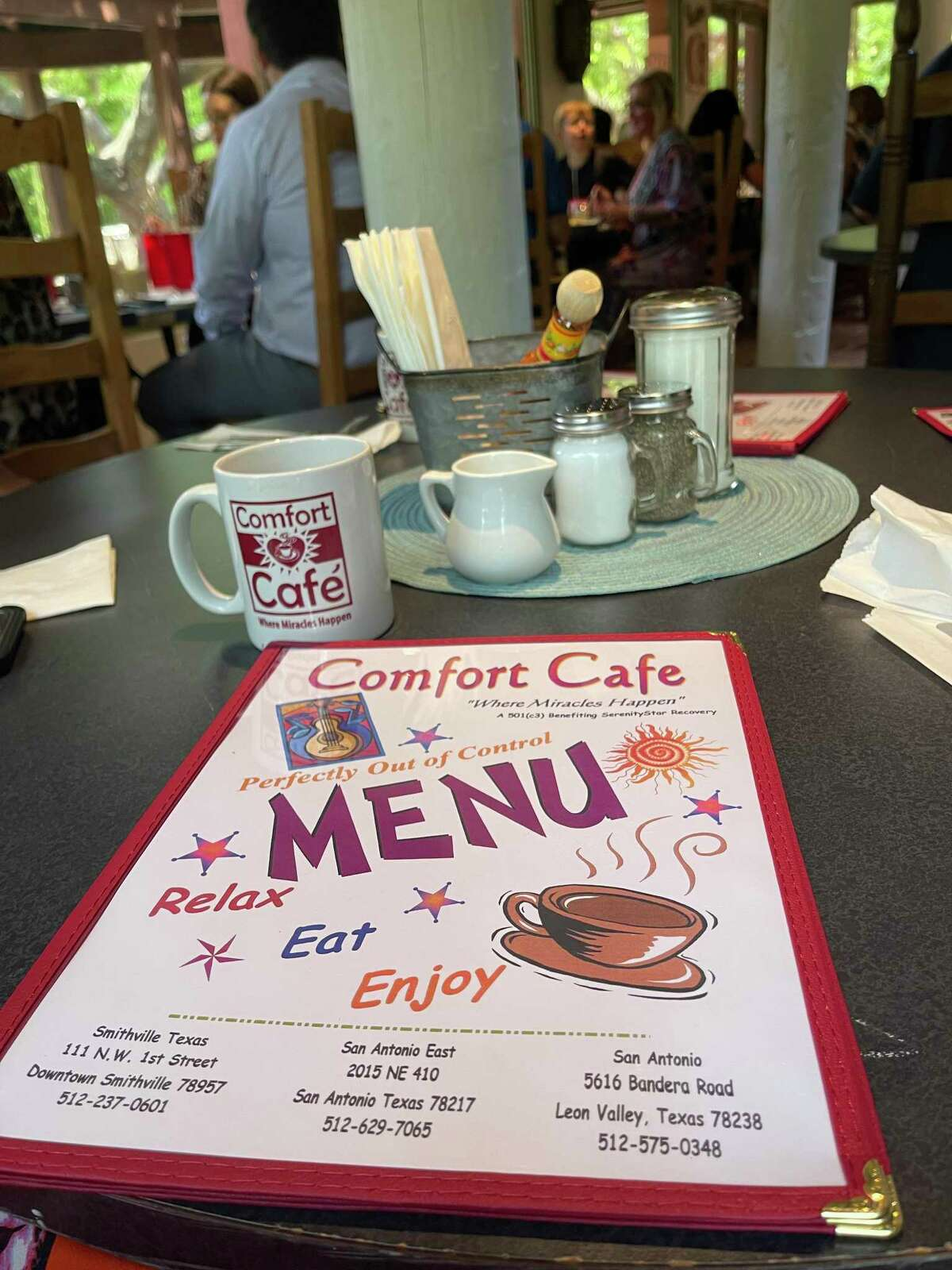 Comfort Café has expanded to three locations, and the menu exudes positive vibes.