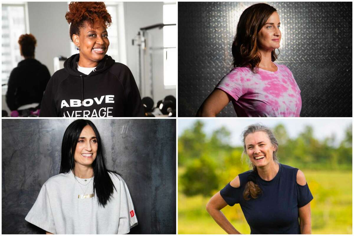 Here's a handful of Houstonians who have found a way to combine fitness with fashion. Working up a sweat is not counter to staying in style.