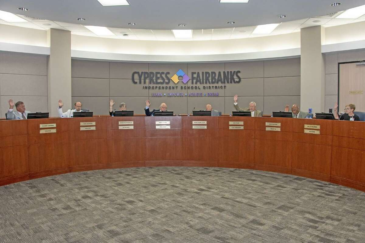 Cy-Fair ISD board of trustees approved the 2021-2022 school year budget and viewed a possible proposed tax rate.
