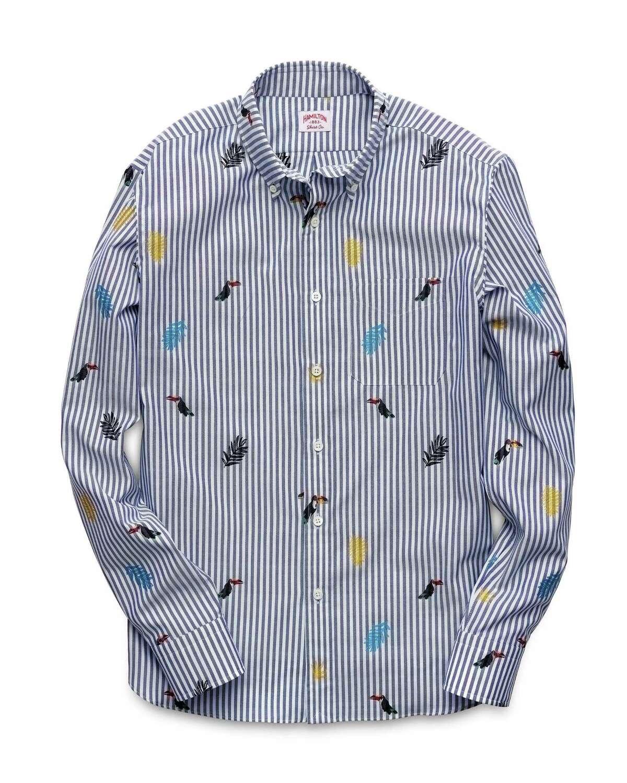 Houston-based Hamilton Shirts' new summer collection is $215-$245 at Hamilton Shirts, 5700 Richmond, and hamiltonshirts.com.