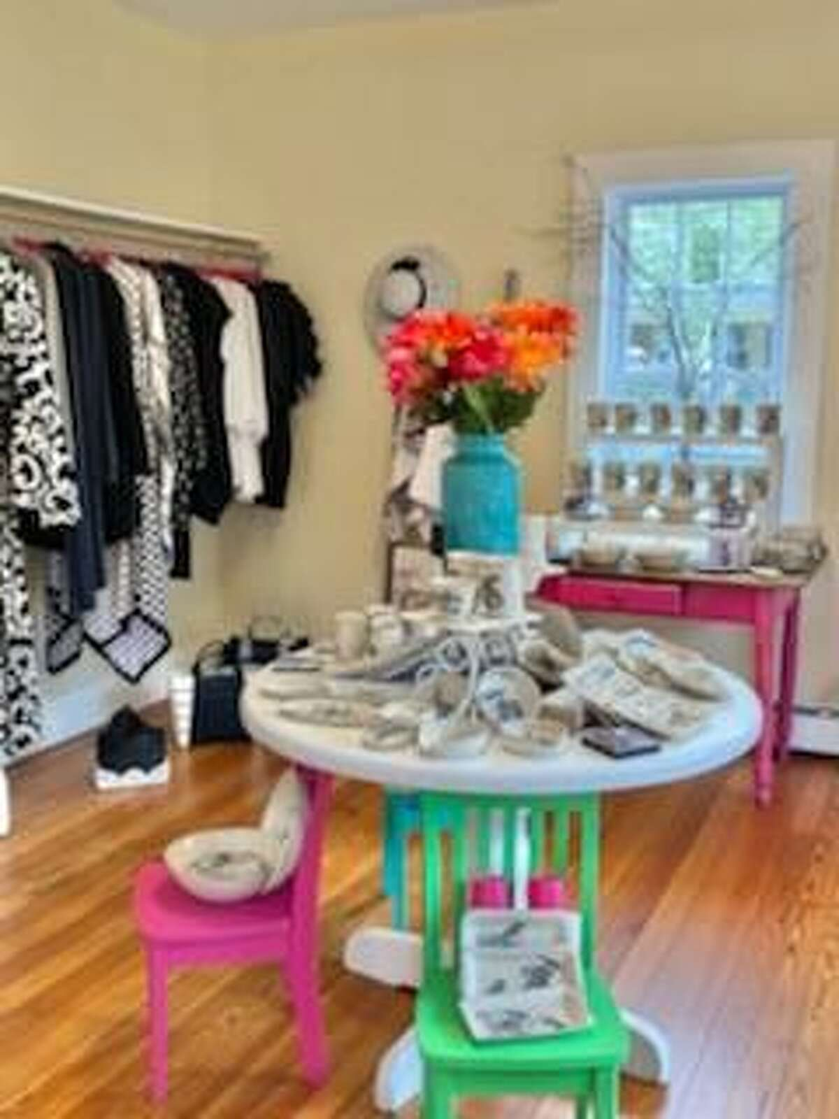 Brenda Quin, a New Hartford resident and native South African who has worked as a fashion designer for decades, recently opened her own business, Diva USA, in Albany Turnpike, Canton.