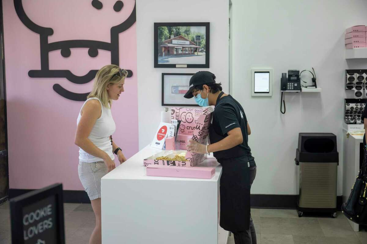 Crumbl Cookie held a grand opening Thursday June 24, 2021 at 400 Midland Dr. Suite 501. Jacy Lewis/Reporter-Telegram