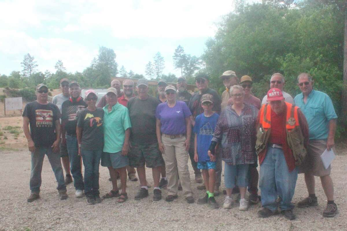 These were all the shooters who participated on Saturday in the 3gun shoot at the Lake County Sportsman Club. (Star photo/John Raffel)