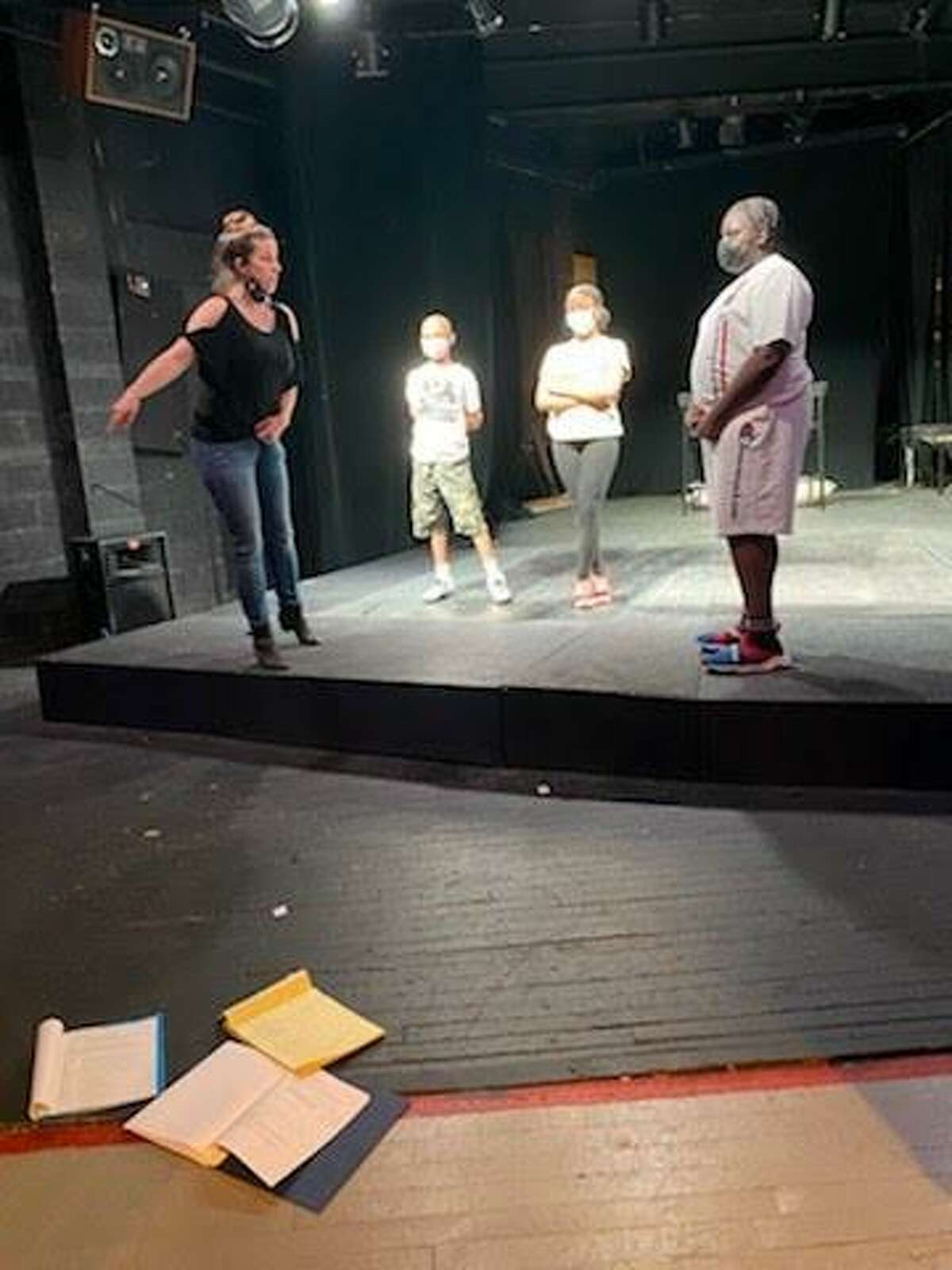 Young performers gathered by Ice the Beef and Elm City Shakespeare will perform Romeo & Juliet Saturday, asking residents to consider how this conflict, as well as those that prompt gun violence in the community, could be settled peacefully.