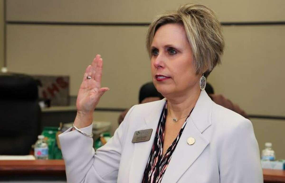 Retiring Spring ISD Board Member Jana Gonzales