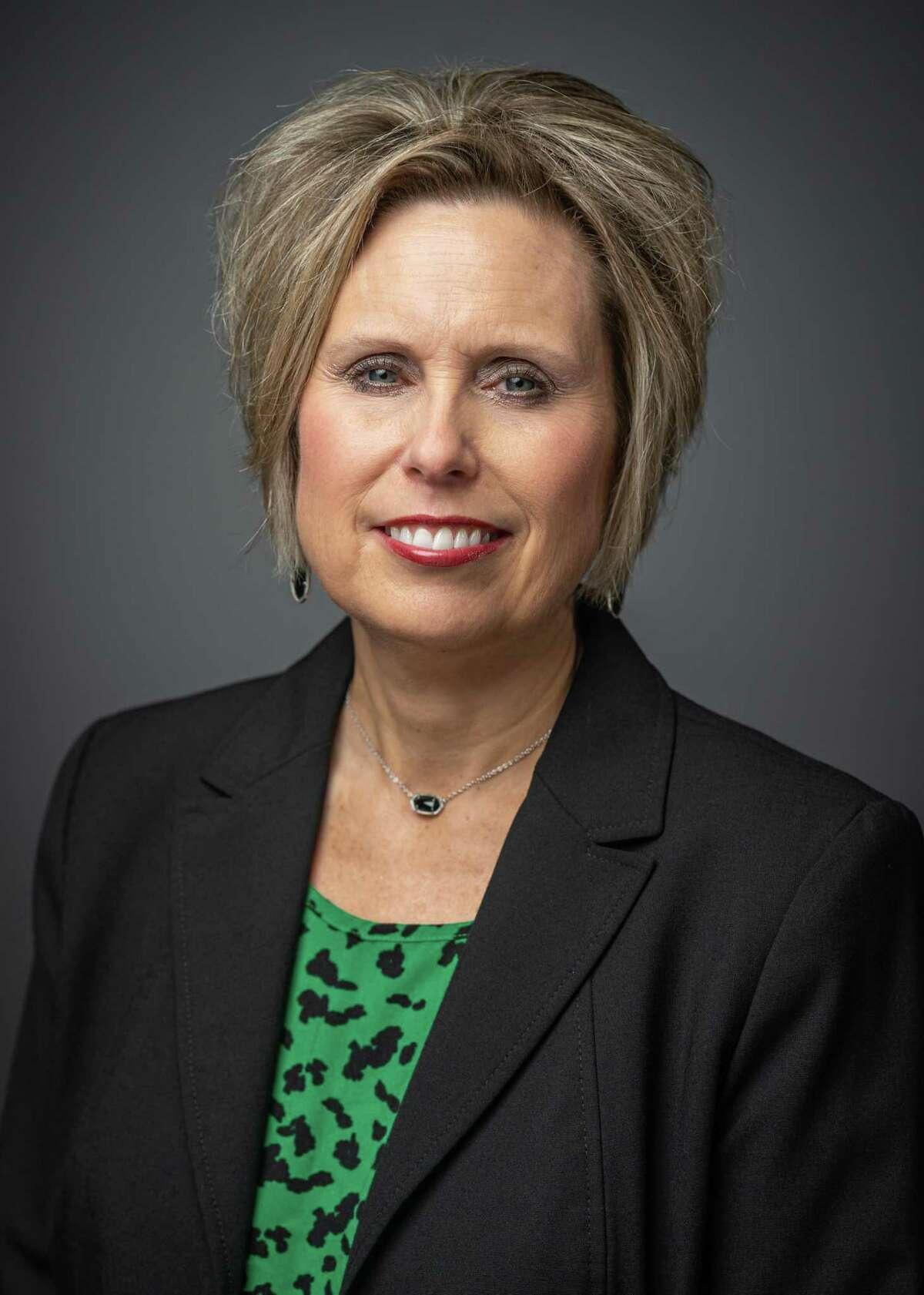 Retiring Spring ISD Board Member Jana Gonzales.