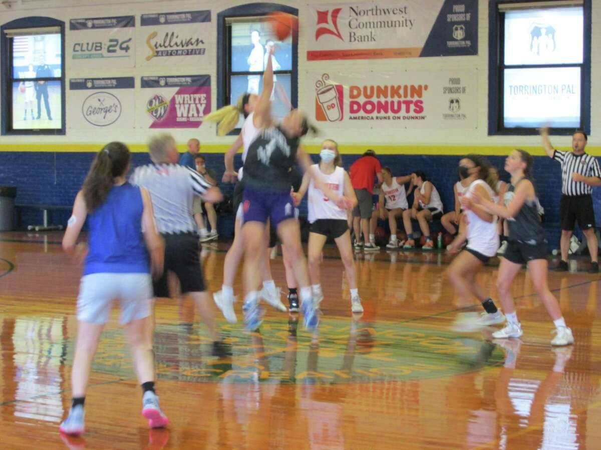 Last Wednesday, girls high school teams from Torrington and Northwestern inaugurated a new page in the Torrington Summer Basketball League and the Torrington Armory.