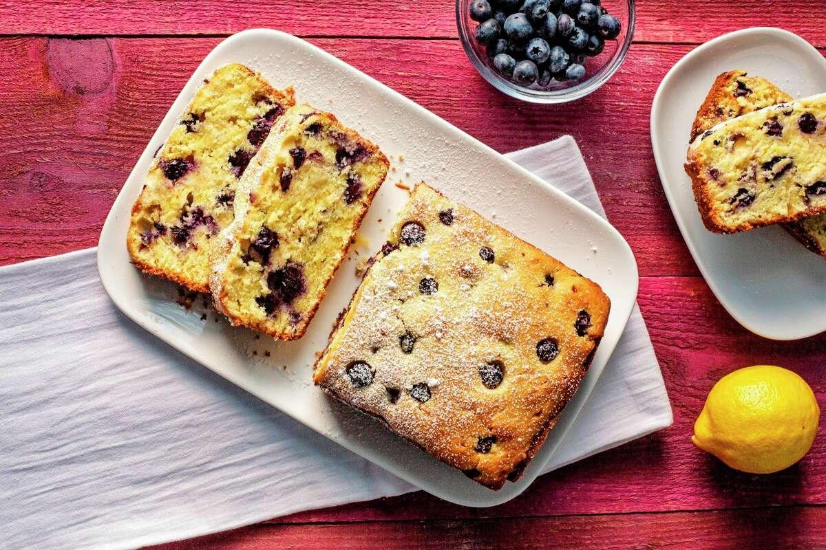 Lovina shares a recipe for blueberry-lemon pound cake. (Anita L. Arambula, TNS)