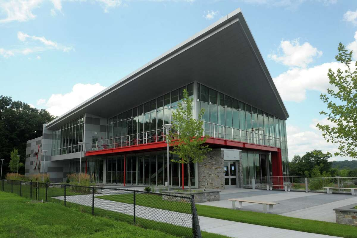 The new Bobby Valentine Health and Recreation Center, on the Upper Quad of Sacred Heart University, in Fairfield, Conn. July 24, 2019.