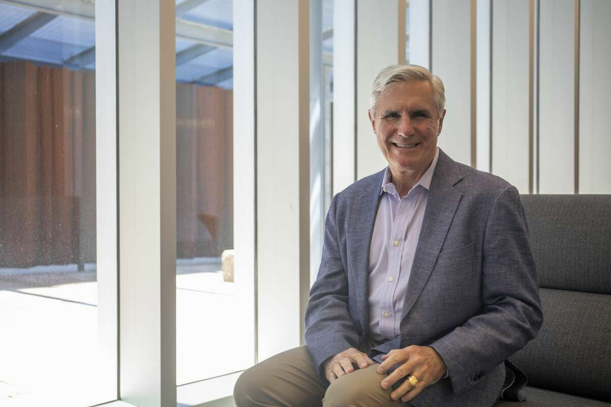 Tim Leach, executive vice president of ConocoPhillips, poses for a portrait Wednesday, June 9, 2021 at ConocoPhillips. Jacy Lewis/Reporter-Telegram