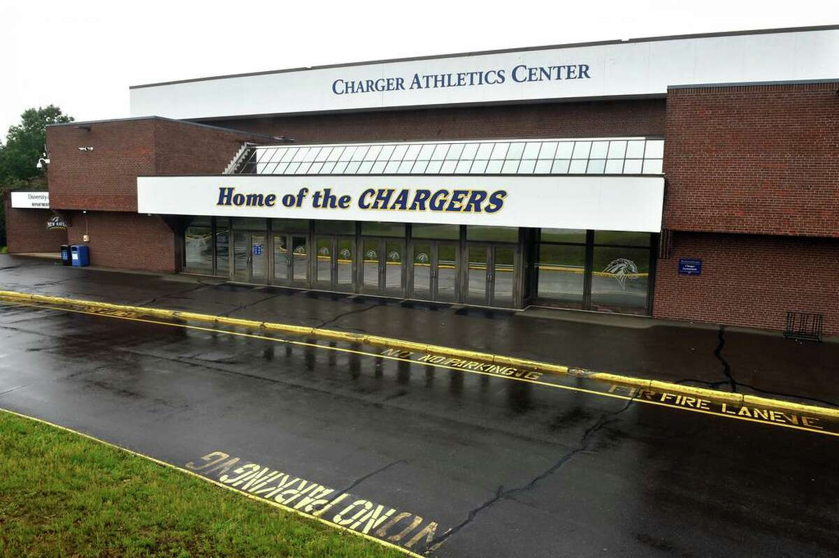 The University of New Haven's Charger Athletics Center in West Haven photographed on June 22, 2021.