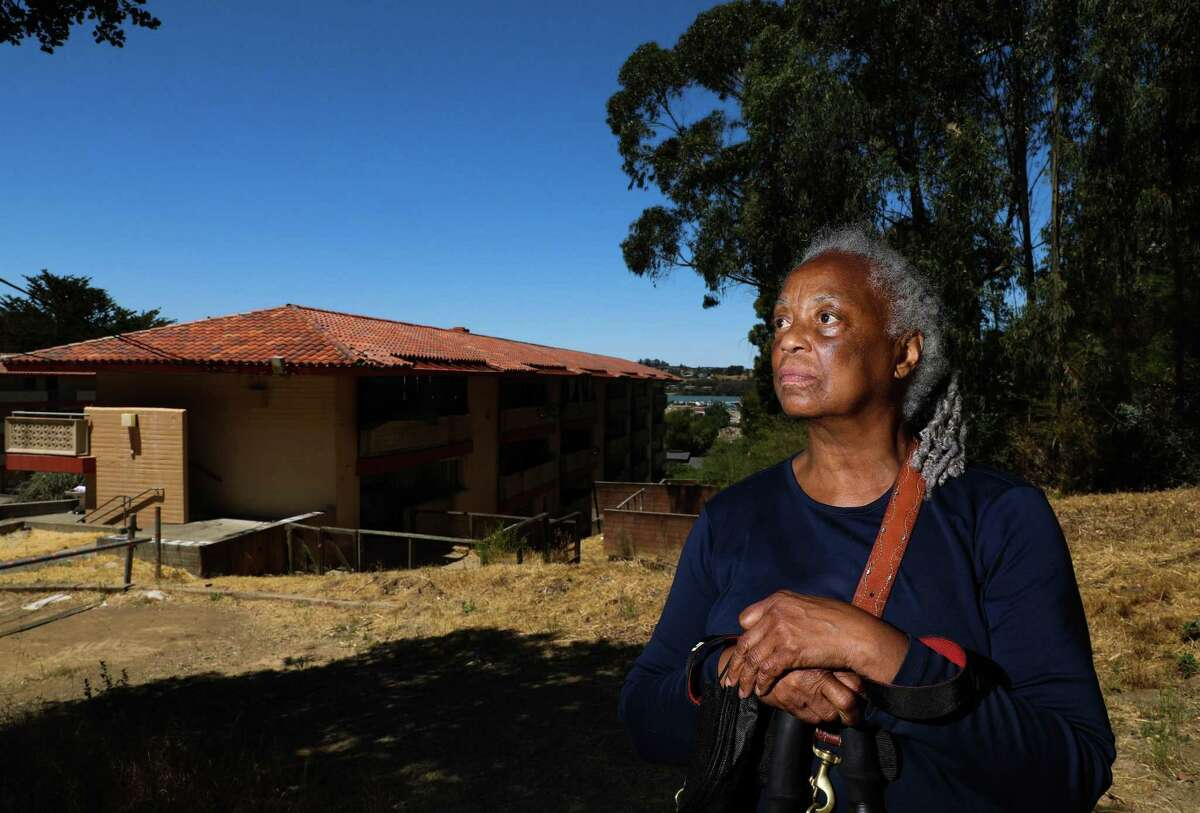 Royce McLemore is one of many Golden Gate Village residents concerned about the property's future as it falls deeper into disrepair.