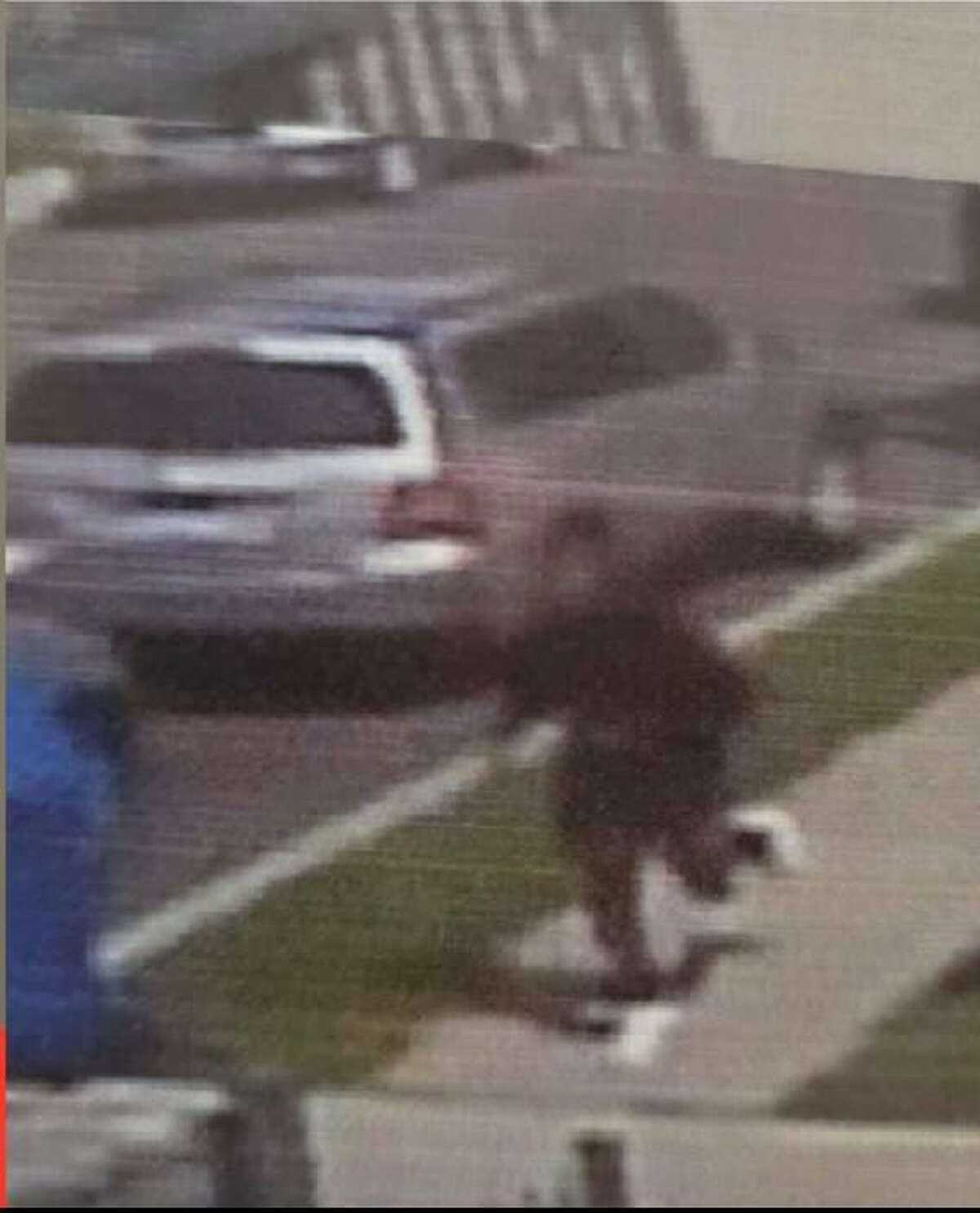 NORWALK, Conn. - Police released this image from a surveillance camera in a stabbing incident that occurred at Norwalk Hospital on June 5, 2021.