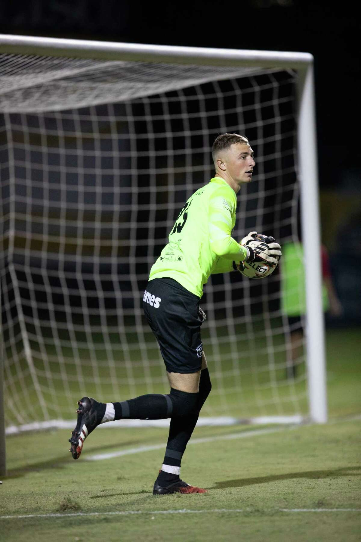 Gage Rogers helped the Heat record their first shutout of the season in a 4-0 win over FC Brownsville on Wednesday at the TAMIU Soccer Complex.