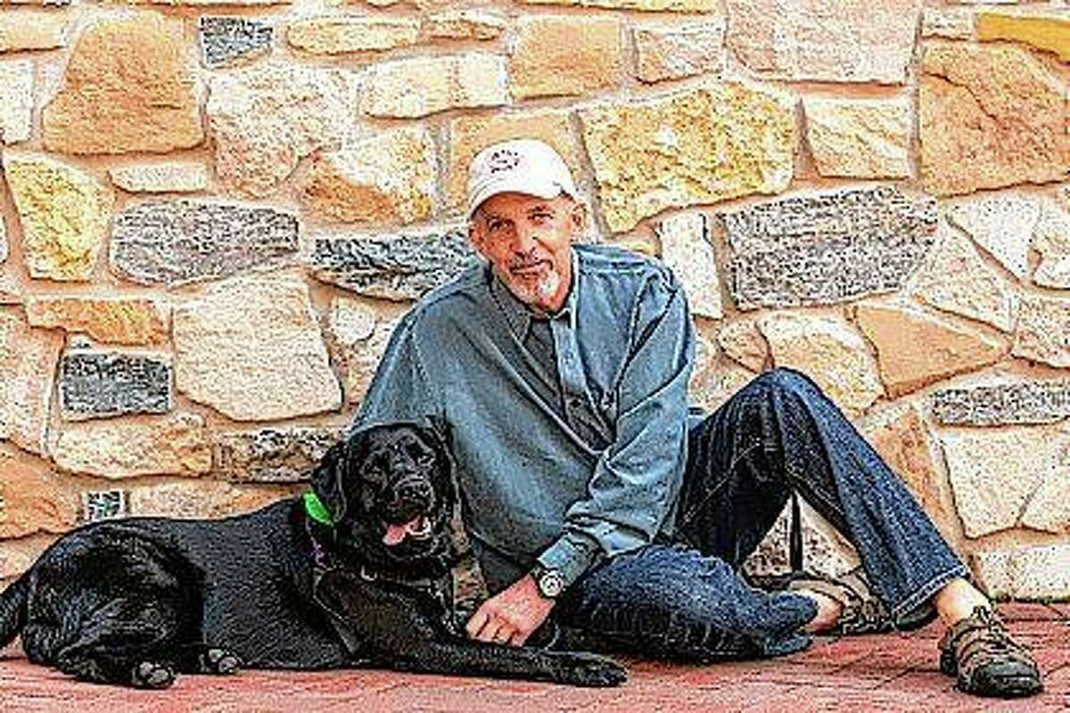 Philip Tedeschi and his dog, Samara. In the eyes of the law, pets are property in many states when it comes to divorce.