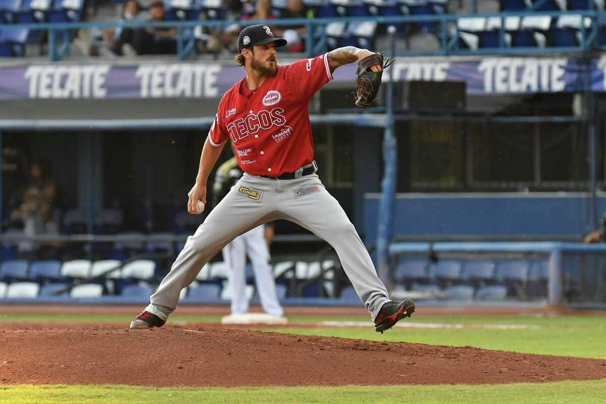 Tecolotes Dos Laredos pitcher Andre Rienzo is one of handful of Brazilians who have played in the MLB..