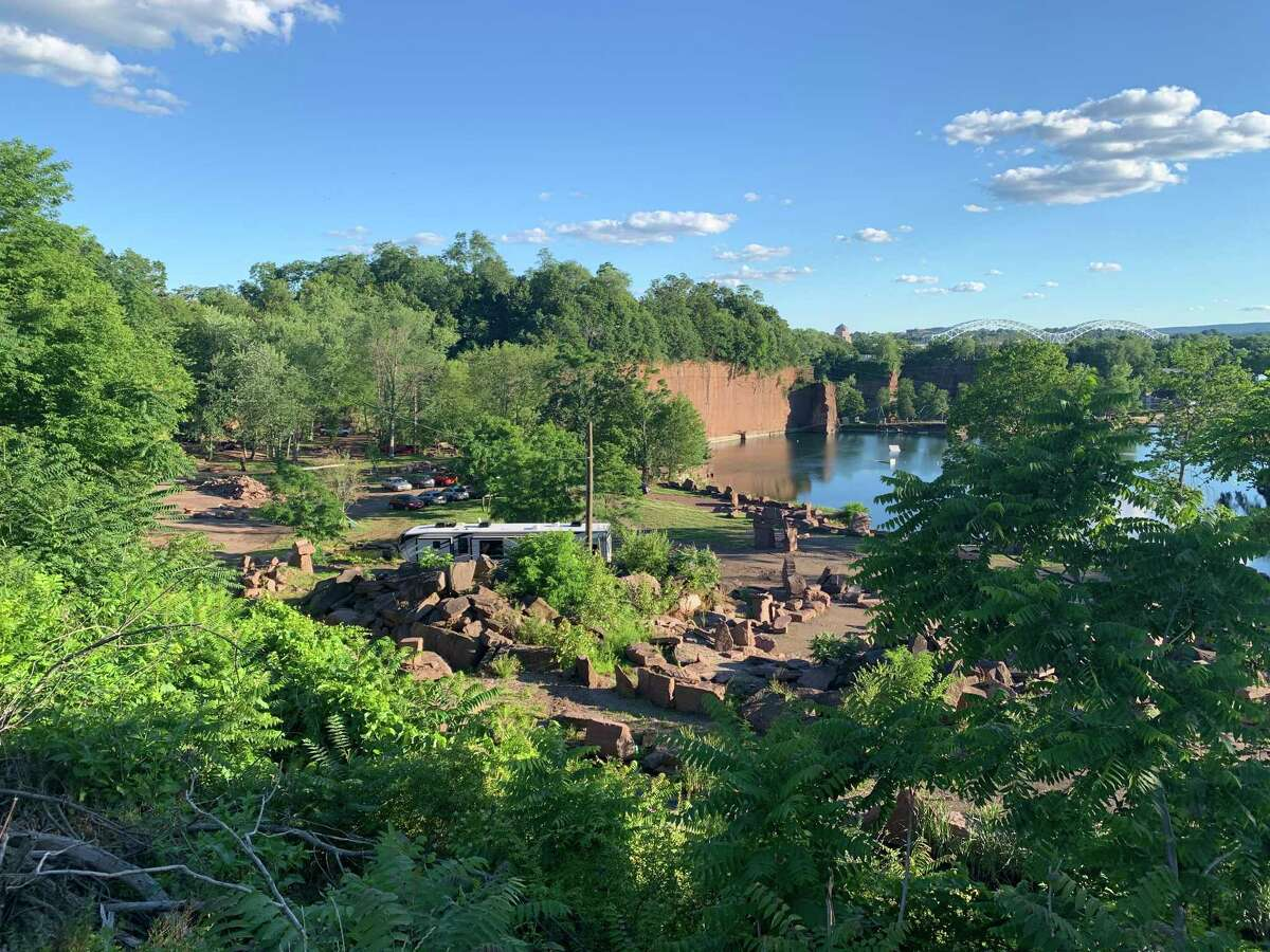 Quarry View is a private park in Portland used for camping, weddings, drum circles and other events.