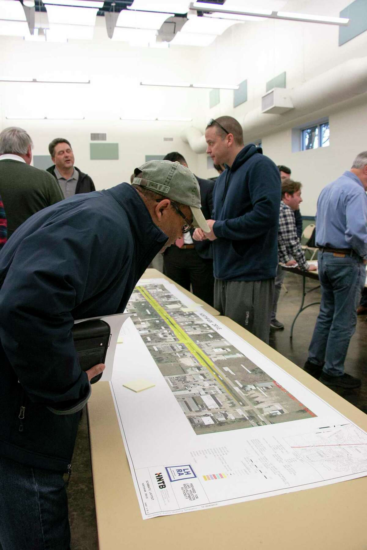 The $88.2 million Northpark Drive Overpass Project is designed to help improve mobility throughout Kingwood. The TIRZ open house on Feb. 6, 2020 presented updated information about the project to the community. Local representatives from the area or members from their offices also attended.