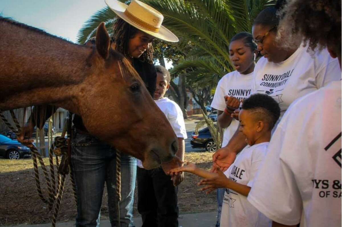 Brianna Noble, founder of Mulatto Meadows and its nonprofit program Humble, is moving her equestrian program for San Francisco Bay Area's most underserved communities to a ranch in Castro Valley on July 1, 2021.