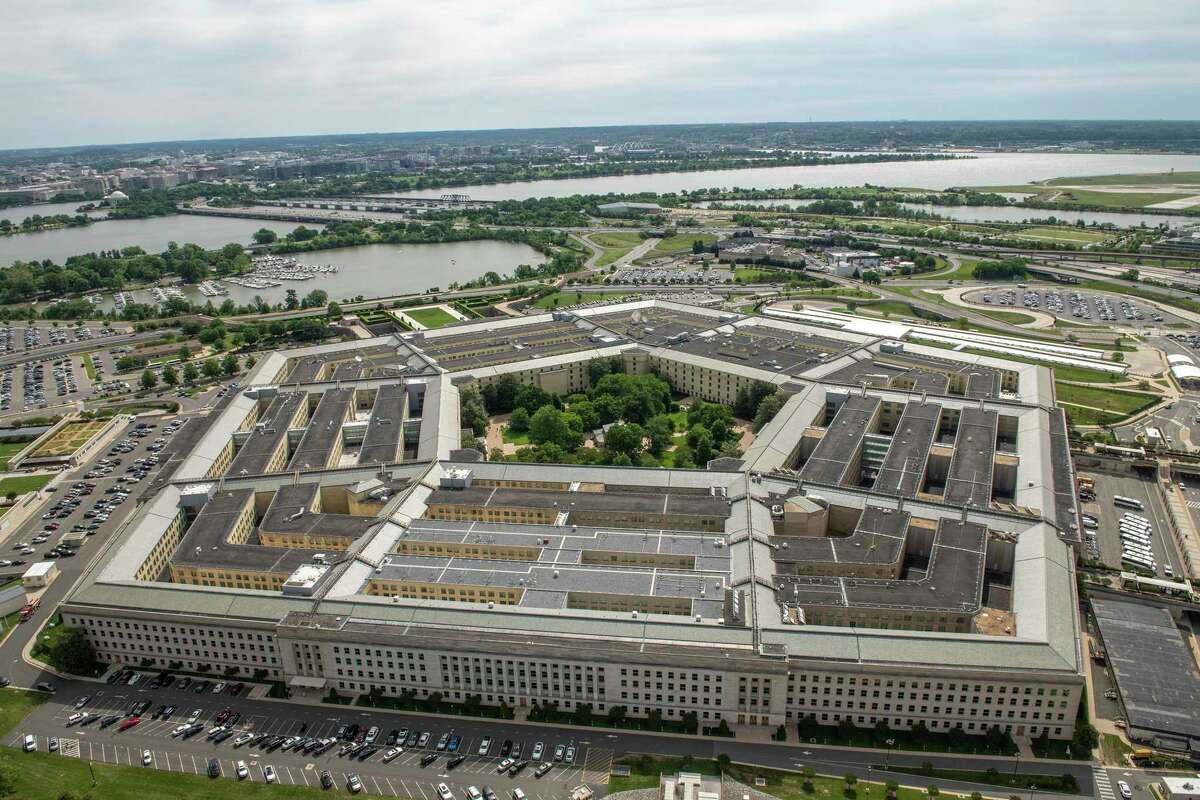 The Pentagon in Washington, D.C., on May 12, 2021. A highly anticipated report on UFOs was released Friday using findings from 144 reports stemming from multiple U.S. government sources. (U.S. Air Force Staff Sgt. Brittany A. Chase/Department of Defense/TNS)
