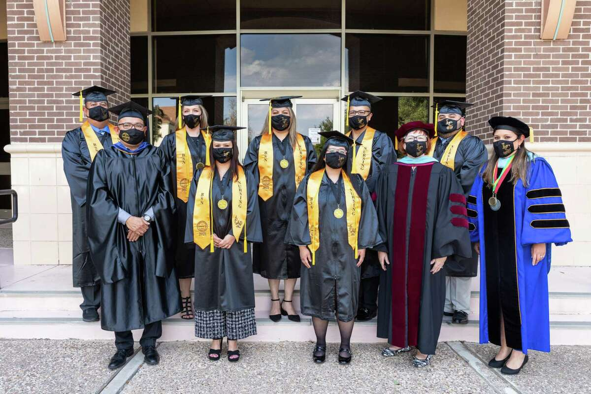 Laredo College's second graduating class of its BSN degree celebrated recently as eight were honored.