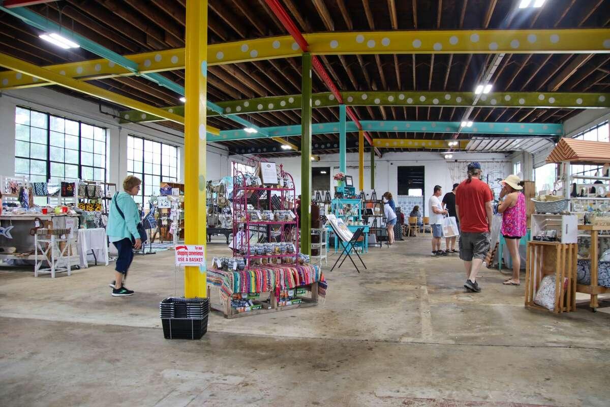 The rain didn't dampen spirits at the 2021 Port Austin Porch Fest June 26.