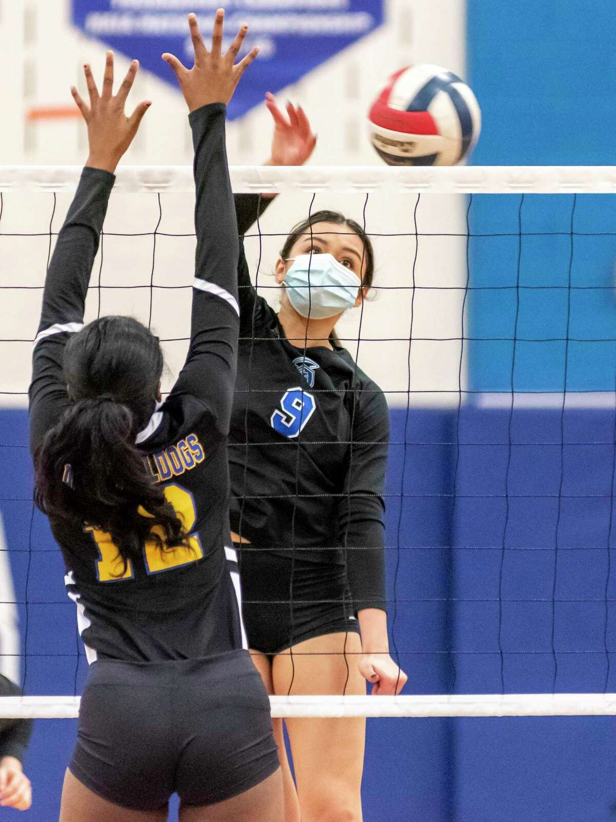 Our Lady of the Lake volleyball player Sadie Ballesteros.